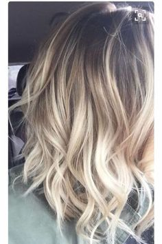 29 Gourgeous Balayage Hairstyles-Are you familiar with Balayage hair? Balayage is a French word which means to sweep or paint. It is a sun kissed natural looking hair color that gives your hair Hair Color And Cut, Ombre Hair Color, Hair Color Balayage, Balayage Hairstyle, Blonde Color, Neutral Blonde, Blonde Sombre Hair, Spring Hair Colour, Colour Melt Hair