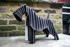 Plywood animal