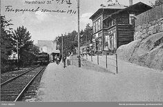 Nordstrand stasjon ( Togstasjon ) 1911