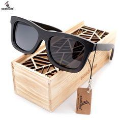 BOBO BIRD New Desgin Men's Sunglasses Original Wooden Sunglasses Casual Polarized Lens Sunglasses for Men With Wood Gift Box Best Mens Sunglasses, Sunglasses Price, Trending Sunglasses, Wooden Sunglasses, Polarized Sunglasses, Guys Sunglasses, Reflective Sunglasses, Rectangle Sunglasses, Wayfarer Sunglasses