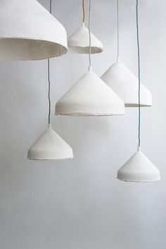 handcrafted linen paper light Handcrafted in a parisian workshop, this stunning light called Chapito Plug In Pendant Light, Pendant Lamp, Jar Chandelier, Modern Chandelier, Room Lamp, Desk Lamp, Diy Luminaire, Lampe Art Deco, Small Lamps