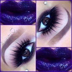 Makeup Art, Lip Makeup, Makeup Ideas, Stunning Makeup, War Paint, Haircuts For Men, Beautiful Eyes, Makeup Looks, Cool Hairstyles