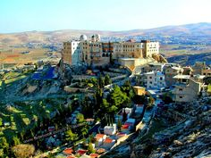 Convent of Our Lady, Greek Orthodox Church in Sednaya, 27 Km north of Damascus