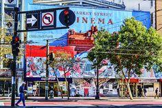 Market Street In The Tenderloin, San Francisco www.mitchellfunk.com