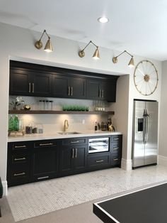 Küche, kitchen, cuisine Parental Control - TV Rating System With the increase of sex and violence on Wet Bar Basement, Basement Kitchenette, Basement Bar Designs, Home Bar Designs, Basement House, Kitchenette Ideas, Wet Bar Designs, Basement Ceilings, Basement Finishing