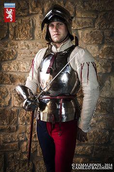 Italian Heavy Infantry   Famaleonis medieval renaissance reenactment  www.famaleonis.com