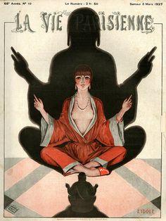 Illustration by George Leonnec For La Vie Parisienne 1927