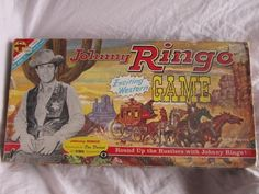 Vintage Johnny Ringo Western Game Don Durant Board Game 1960s Toy Transogram