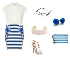 Professional Blue by paigiepeaches on Polyvore featuring polyvore, fashion, style, Vero Moda, Forever New, Jane Norman, MICHAEL Michael Kors, Marc by Marc Jacobs and Vera Bradley