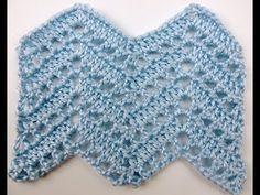 Crochet: Punto Zig Zag # 8 - YouTube