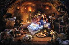 Beautiful Christmas Scenes | Christmas Herb Folklore | Sheepy Hollow Farm Life