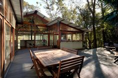 Architect-designed modern house for sale in Avalon. Treetop House by Stutchbury and Pape.