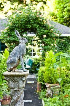 Garden Ornaments And Statues Diy Garden, Dream Garden, Garden Landscaping, Spring Garden, Garden Gate, Portland Garden, Oregon Garden, Portland Oregon, Classic Garden
