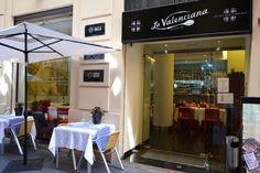Arrocería La Valenciana. Entrada a la Arrocería.
