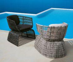 Garden armchairs | Garden lounge | Crinoline | B