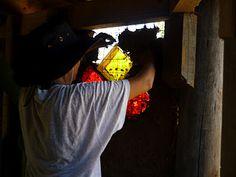 ecoHACER: TALLER DE BIOCONSTRUCCIÓN -ENERO2012