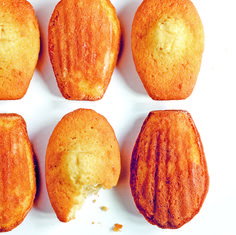madeleines au miel - Marabout cuisinie