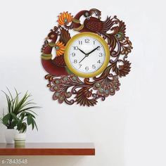 Checkout this latest Wall Clocks Product Name: *Wall Clock* Material: Plastic, Wooden, Metal Pack: Pack of 1 Product Length: 1.5 Inch Product Breadth: 13.5 Inch Product Height: 13.5 Inch Country of Origin: India Easy Returns Available In Case Of Any Issue   Catalog Rating: ★3.9 (509)  Catalog Name: Fancy Wall Clocks CatalogID_1285396 C127-SC1440 Code: 944-7843548-999