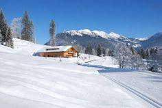 Herbstalm mit Langlaufloipe zur Winkelmoosalm Bavaria, Homeland, Beautiful Landscapes, Skiing, Relax, Country, Places, Outdoor, Ski