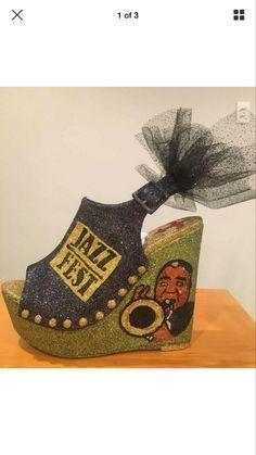 Shoe Decorations, Muses Shoes, Decorated Shoes, Mardi Gras, Shoulder Bag, Bags, Ideas, Carnival, Handbags