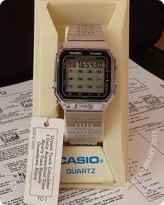CASIO - TC-600 - Calculator - Vintage Digital Watch - Digital-Watch.com