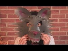 "How to make Lion Paper Plate PARTY MASKS - ""Paper Art and Craft Ideas"" (English) - YouTube"