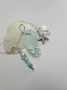 Ariel  Genuine Sea Glass Jewelry  Seaglass by SeaFindDesigns, $27.00