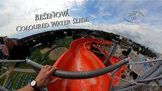Bešeňová Coloured Water Slide 360° VR POV Onride Water Slides, Vr, Color, Colour, Colors