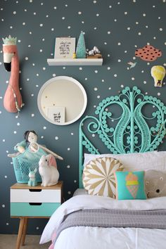 Children Bedroom Ideas | colorful kids rooms | barnrum | kinderzimmer | girls room decor