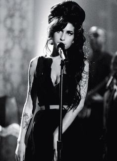 The lovely Ms Amy Winehouse.