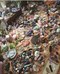 Crystal Heaven right here. #crystals