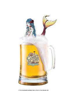 Jisoo Hong   Print Ads Print Ads, Advertising, Beer, Mugs, Tableware, Root Beer, Dinnerware, Cups, Print Advertising