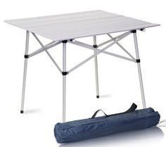 Pin It :-) Follow us :-))  zCamping.com is your Camping Product Gallery ;) CLICK IMAGE TWICE for Pricing and Info :) SEE A LARGER SELECTION of camping tables at http://zcamping.com/category/camping-categories/camping-furniture/camping-tables/ -  hunting, camping, camping tables, camping gear, folding tables, portable tables, tables, camping accessories -  Aluminum Roll Up Table Folding Camping Outdoor Indoor Picnic Table Heavy Duty « zCamping.com