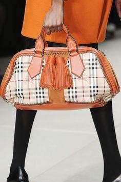 Love -- Burberry Prorsum Fall 2011 runway bags