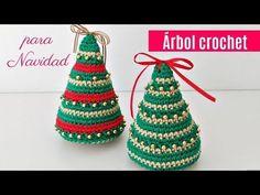 Cómo tejer árbol de navidad a crochet - YouTube