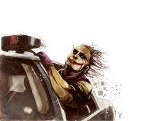 The Joker Art Print  http://inspirationfeed.com/inspiration/illustration/why-so-serious-30-incredible-joker-illustrations/