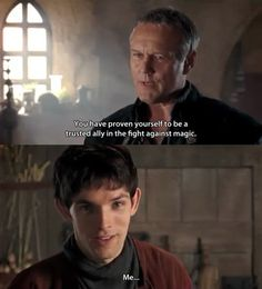 Oh is that so, Uther?