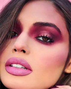 Pink Matte Lipstick, Mac Make, Bridal Make Up, Dares, Eyebrows, Makeup Looks, Eye Makeup, Hairstyle, Beauty