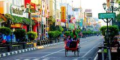 Malioboro Trishaw, Yogyakarta, Indonesia