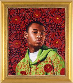 Thomas Armory I, Kehinde Wiley Soft Sculpture, Sculptures, Kehinde Wiley, Nyc Art, Art Of Man, African Masks, Black Artists, Red Paint, Tribal Art