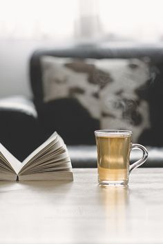 Tea & A Book  and let it rain or snow!