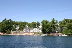 Muskoka Lake has homes of all styles and sizes on its banks.
