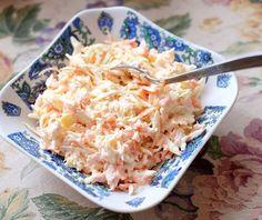 Coleslaw – enkelt recept