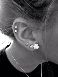 This is exactly what I want on my left ear. And the same with only one cartilage on the right