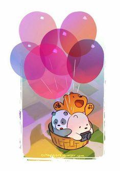 We Bare Bears Wallpapers, Panda Wallpapers, Cute Cartoon Wallpapers, Cute Panda Wallpaper, Bear Wallpaper, Kawaii Wallpaper, Trendy Wallpaper, Ice Bear We Bare Bears, We Bear
