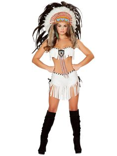 Women's Sexy Tribal Princess Costume - Sexy Indians Halloween Costumes $80