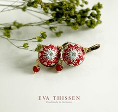 RED DELICIOUS sweet and simple handmade polymer clay by EvaThissen