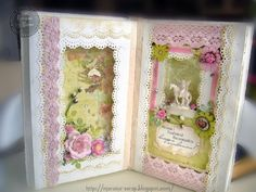 ☼ Diary of my fantasy: Altered book для Надежды