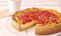 Veganer Cremekuchen mit Mandarinen Rezept: Knetteigboden mit veganer Kokos-Pudding-Creme und Mandarinen - Eins von 7.000 leckeren, gelingsicheren Rezepten von Dr. Oetker!