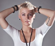 Punk Hairstyles For Women | 30 Sexy Short Hairstyles For Fine Hair - SloDive